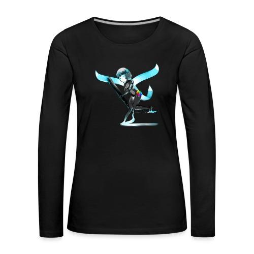 Huion Character O.C. - Maglietta Premium a manica lunga da donna