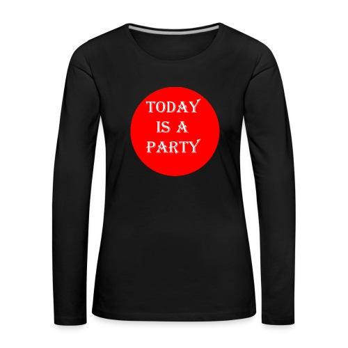 today - T-shirt manches longues Premium Femme