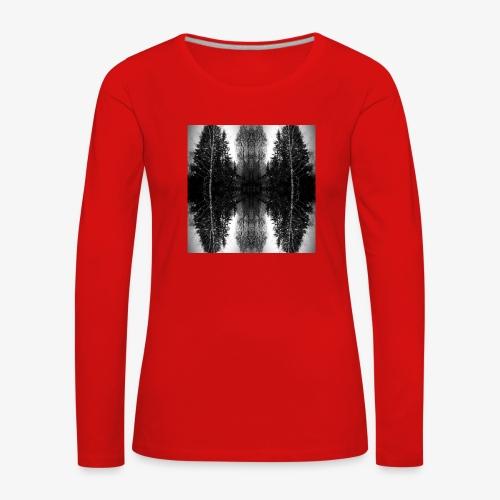Riihi - Naisten premium pitkähihainen t-paita