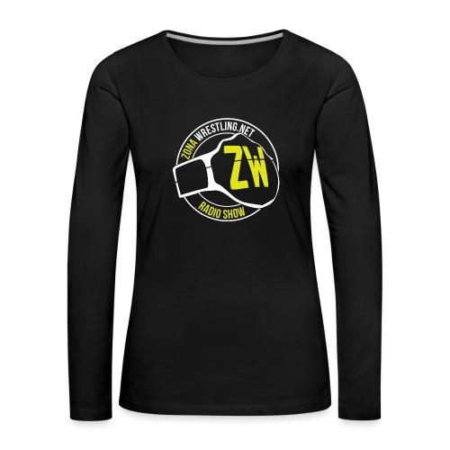 Zona Wrestling Radio Show - Maglietta Premium a manica lunga da donna