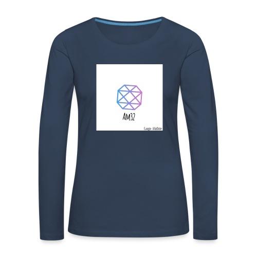 8BE180FF A03D 4C99 B528 99798168447D - Långärmad premium-T-shirt dam