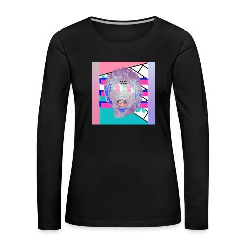 La playera del capitalismo moderno - Camiseta de manga larga premium mujer
