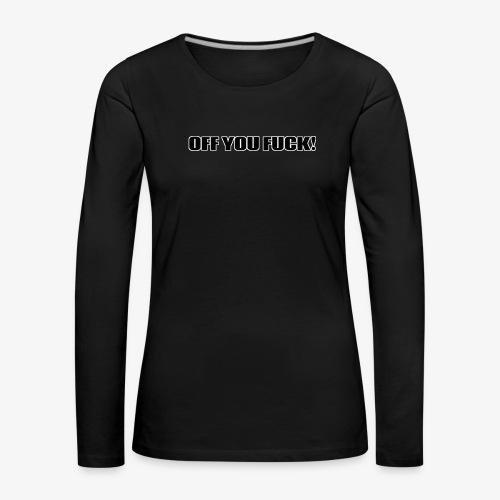 2D329BF7 B4E4 4FCD B52F 7545958FD148 - Women's Premium Longsleeve Shirt