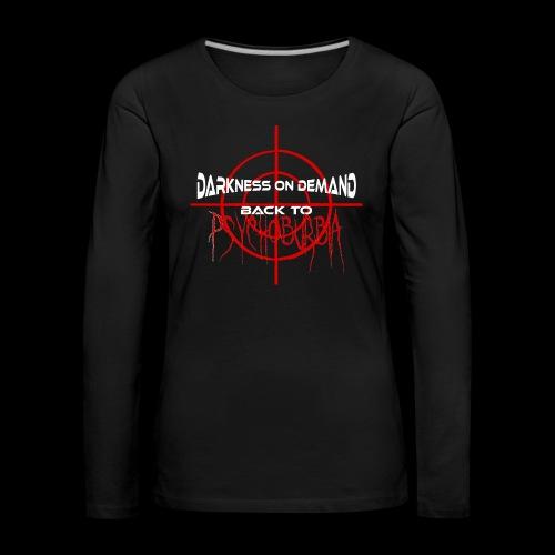 DoD Back to Psychoburbia - Frauen Premium Langarmshirt
