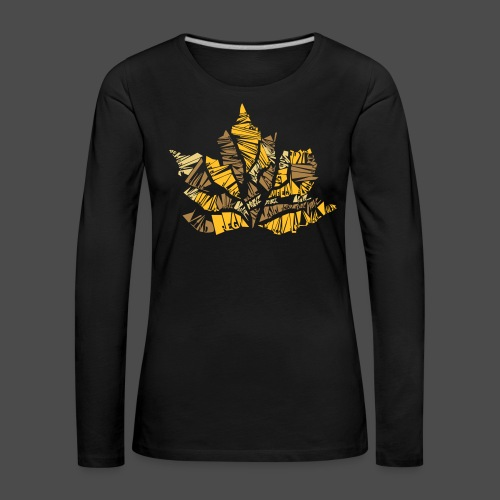 Fall Leaf - Women's Premium Longsleeve Shirt