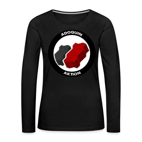 Adoquin Aktion - Camiseta de manga larga premium mujer