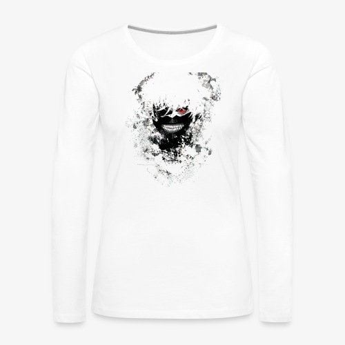 Kaneki Eye Patch - Women's Premium Longsleeve Shirt