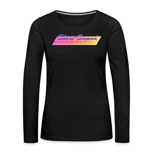 80's Shirt Squad - Women's Premium Longsleeve Shirt