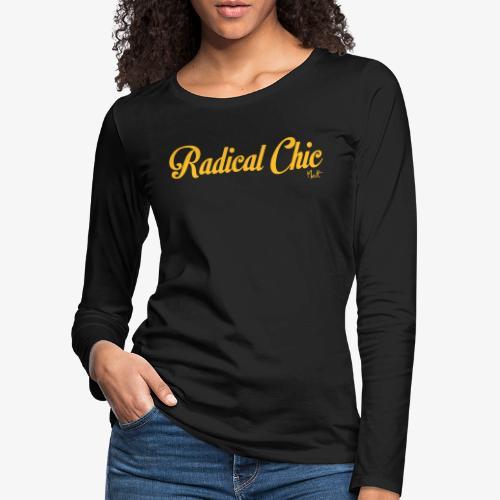 radical chic - Maglietta Premium a manica lunga da donna