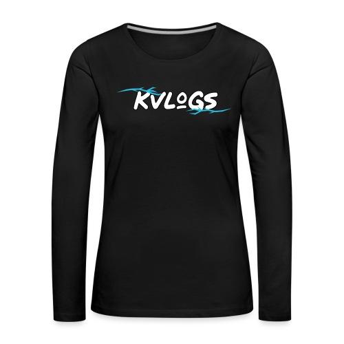 K Vlogs - Vrouwen Premium shirt met lange mouwen