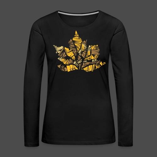 Fall Leaf - Women's Premium Longsleeve Shirt