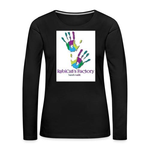rabicat_mani - Maglietta Premium a manica lunga da donna