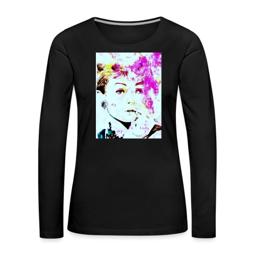 Audrey - Frauen Premium Langarmshirt