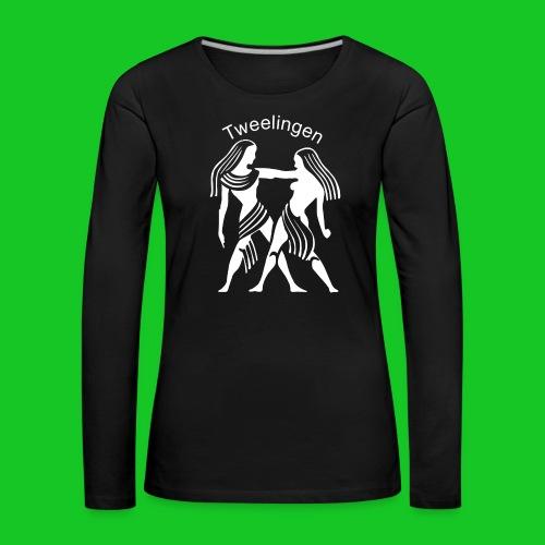 Tweelingen - Vrouwen Premium shirt met lange mouwen