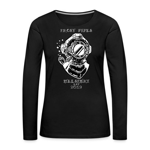 The Nautical Piper by Frost Pipes - Women's Premium Longsleeve Shirt