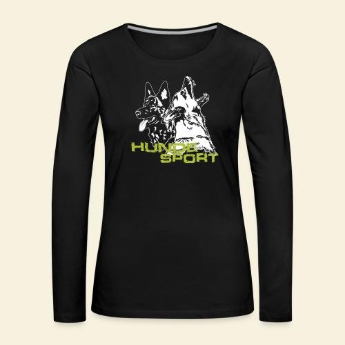 Hundesport - Frauen Premium Langarmshirt