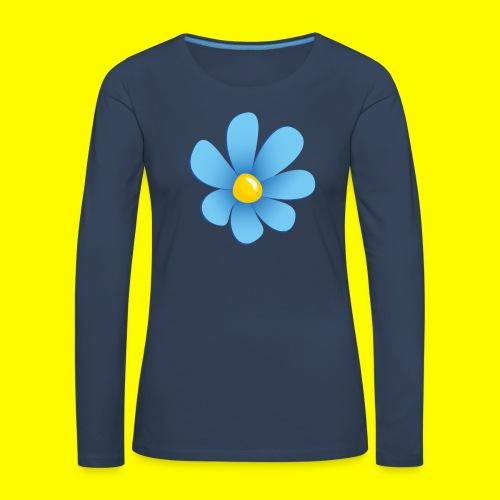 Sverigedemokraterna - Långärmad premium-T-shirt dam