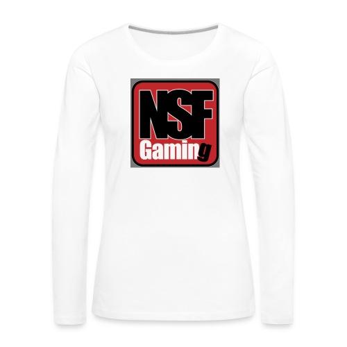 NSFGaming - Långärmad premium-T-shirt dam