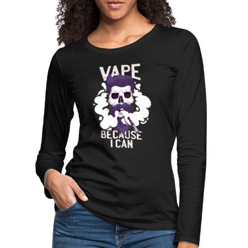 Vape - MOMO - Frauen Premium Langarmshirt