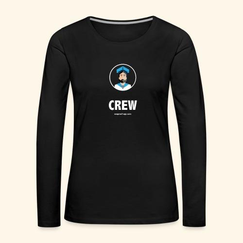 SeaProof Crew - Frauen Premium Langarmshirt