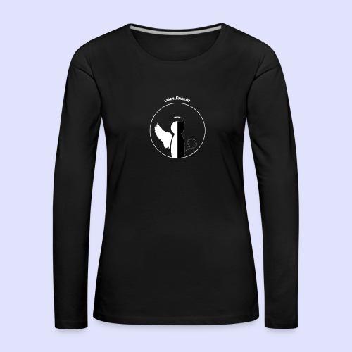 olanenkeli - Naisten premium pitkähihainen t-paita