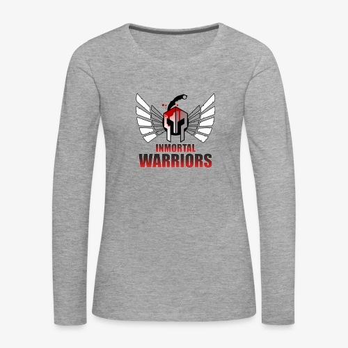 The Inmortal Warriors Team - Women's Premium Longsleeve Shirt