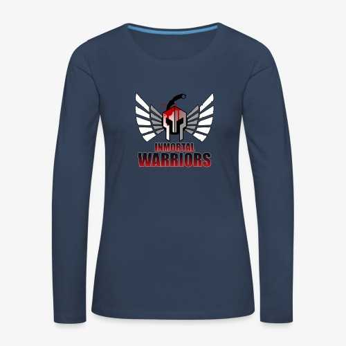 The Inmortal Warriors Team - Women's Premium Longsleeve Shirt
