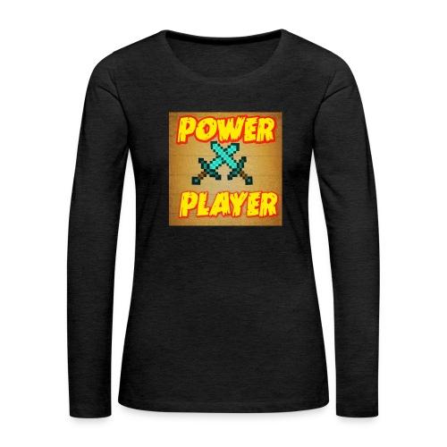 NUOVA LINEA POWER PLAYER - Maglietta Premium a manica lunga da donna