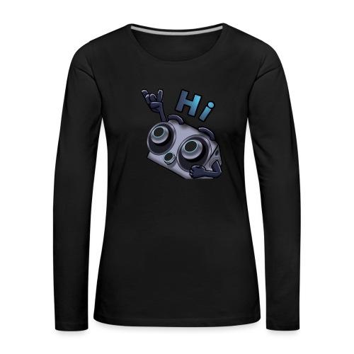 The DTS51 emote1 - Vrouwen Premium shirt met lange mouwen