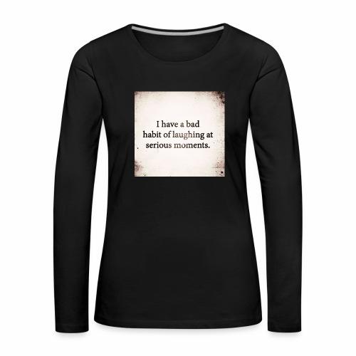 emotions - Women's Premium Longsleeve Shirt