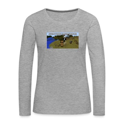 minecraft - Women's Premium Longsleeve Shirt