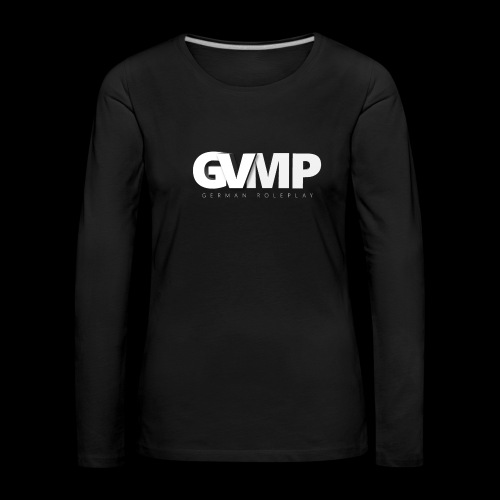 GVMP Schriftzug - Frauen Premium Langarmshirt
