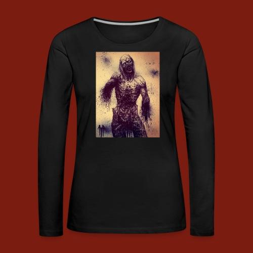 Zombie - Women's Premium Longsleeve Shirt