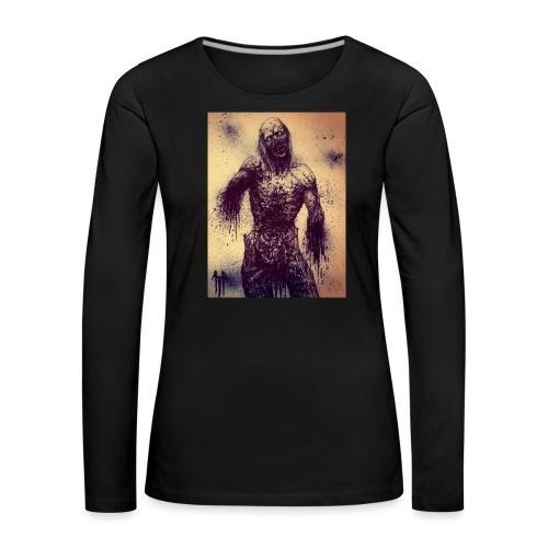 Zombie - Maglietta Premium a manica lunga da donna
