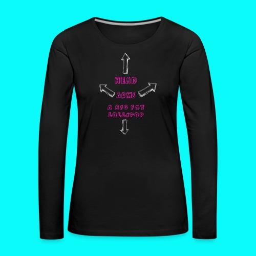 A BIG FAT LOLLIPOP - Långärmad premium-T-shirt dam