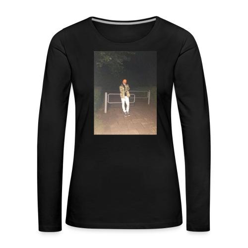 Jay Dane - Dame premium T-shirt med lange ærmer