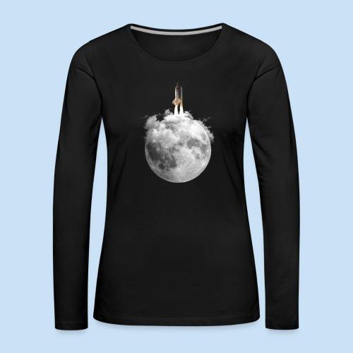 Mondrakete - Frauen Premium Langarmshirt