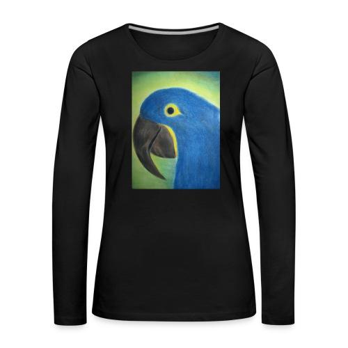 Hyasinttiara - Naisten premium pitkähihainen t-paita