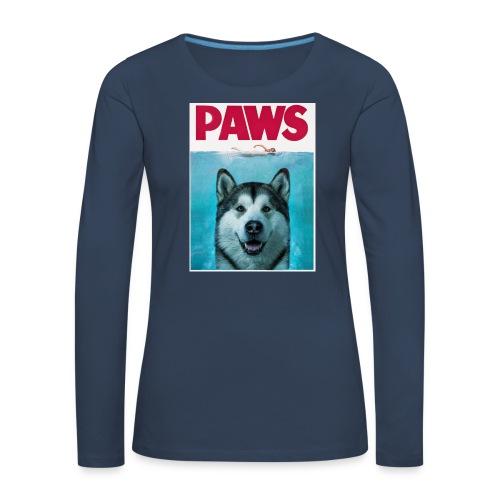 paws 2 - Women's Premium Longsleeve Shirt