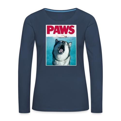 paws Alaskan Malamute - Women's Premium Longsleeve Shirt