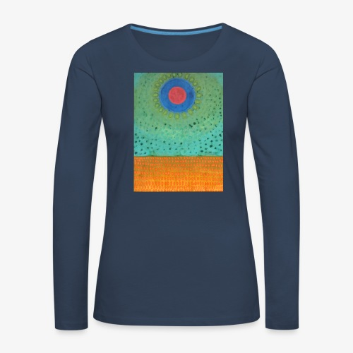Noc Nad Pustynią - Koszulka damska Premium z długim rękawem