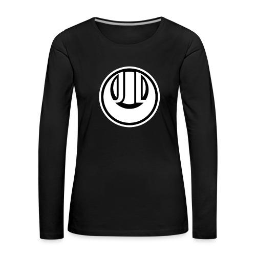 JADE LUNE MONOCHROME - Women's Premium Longsleeve Shirt