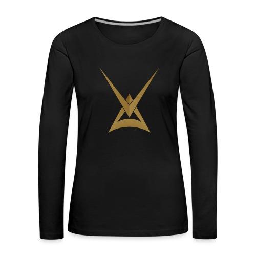 Myytinkertojat V3 - Naisten premium pitkähihainen t-paita