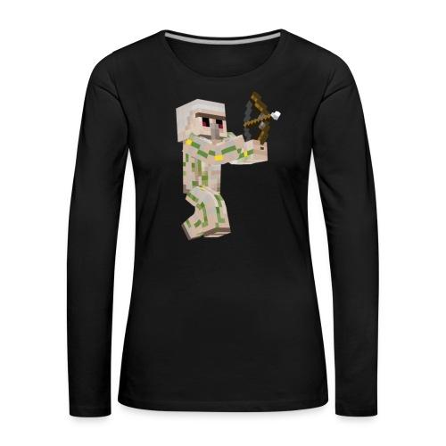 Bow Shooter - Långärmad premium-T-shirt dam