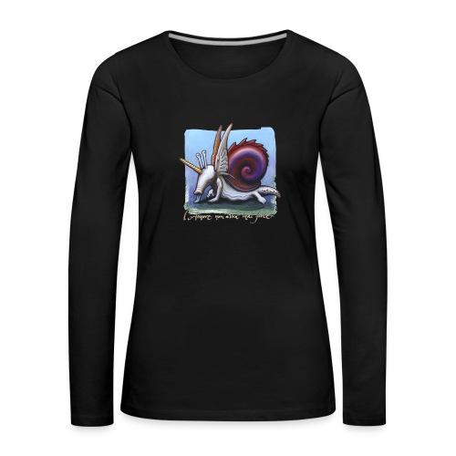 Unichiocciolo - Maglietta Premium a manica lunga da donna