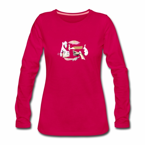 Pintular - Camiseta de manga larga premium mujer