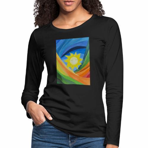 lachende-sonne - Frauen Premium Langarmshirt