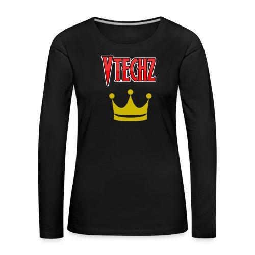 Vtechz King - Women's Premium Longsleeve Shirt