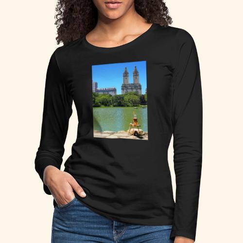 Dipinto americano - Maglietta Premium a manica lunga da donna