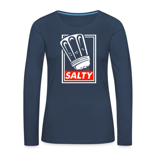 Salty white - Women's Premium Longsleeve Shirt